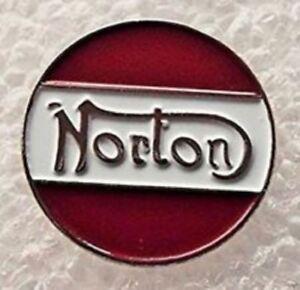 NORTON - LAPEL PIN BADGE -  MOTORCYCLE COMMANDO BIKE CLASSIC BIKER    287
