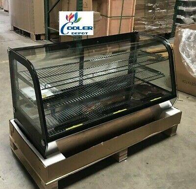 New 48 Refrigerator Bakery Case Curved Glass Displaynsf Restaurantshow Case