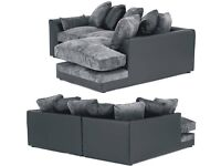 BRAND NEW COUCH BYRON CHENILLE CORNER/3+2 SEATER SET SOFA AVAILABLE