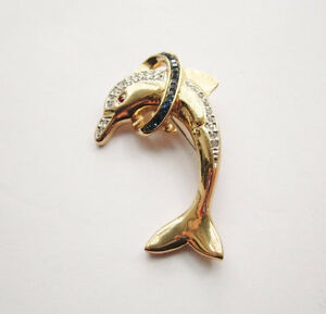 Dolphin Brooch / Pin by Butler  of 5th Avenue