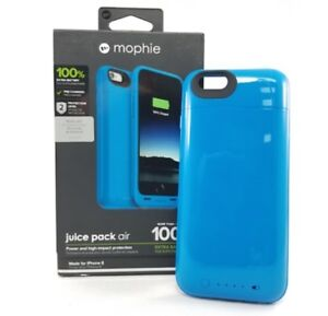 NEW UNOPENDED Mophie iphone 6/6s blue charging case.