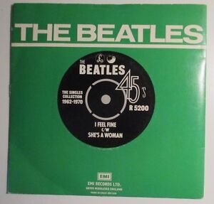 Vintage The Beatles 45 - I feel fine c/w She's a woman West Island Greater Montréal image 1