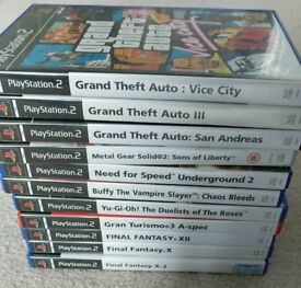 Various PS2 Games