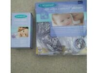 Lansinoh Latch Assist and Therapearl breast therapy
