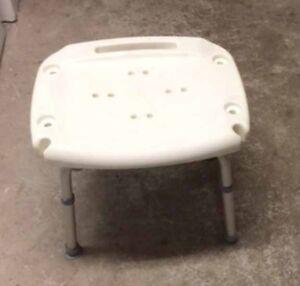 $35 bath/shower seat