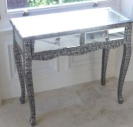 Silver dressing/side table