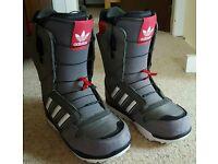 Adidas Zx500 snowboard boots size 8.5 UK
