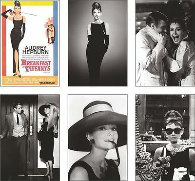Breakfast at Tiffanys Audrey Hepburn POSTCARD Set