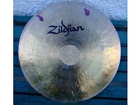 """ZILDJIAN 22"""" Gong."""