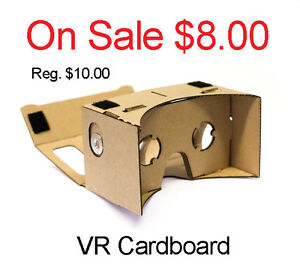 On Sale ~ VR 3D Cardboard (All Brand New)