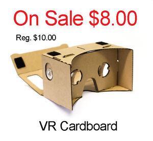 On Sale ~ VR 3D Cardboard (All Brand New) Edmonton Edmonton Area image 1
