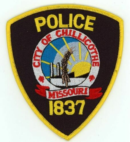 CHILLICOTHE POLICE MISSOURI MO NEW PATCH SHERIFF