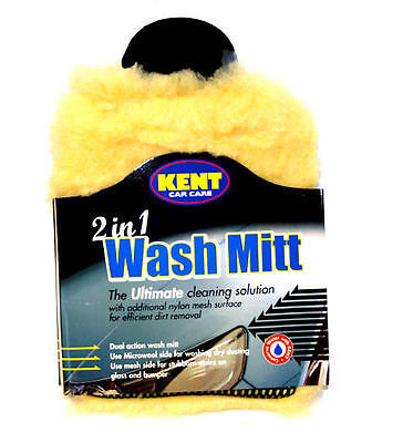 Wash Mitt 2 in 1 Better Than a Sponge For Car Washing Cleaning Non