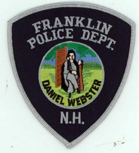 FRANKLIN POLICE NEW HAMPSHIRE NH NICE NEW COLORFUL PATCH SHERIFF