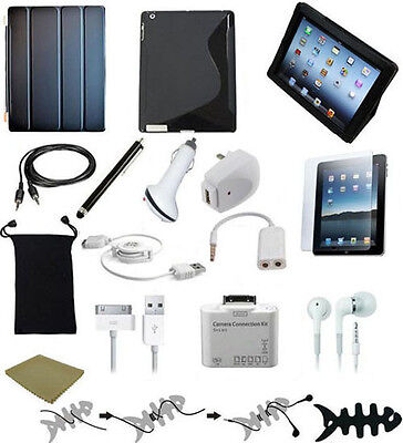 "16 ITEM ACCESSORY BUNDLE FOR APPLE IPAD 3rd GEN Wi-Fi ""Free Priority Shipping"" on Rummage"