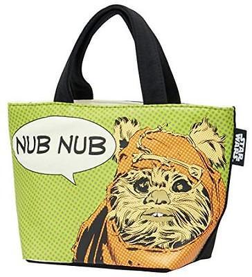 S Star Wars Ewok handbag back sweat fabric KNB1 Japan