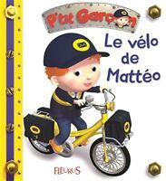 Livre enfant Ptit Garçon : Le vélo de mattéo