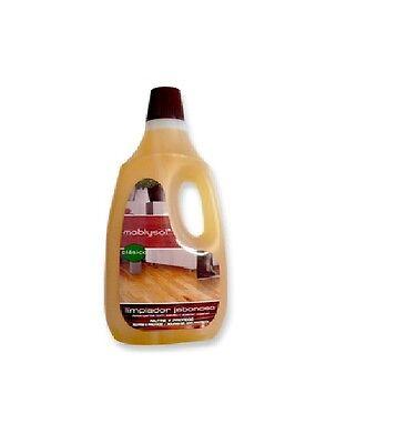 Limpiador Jabonoso Clásico para madera y parquet Moblysol. Caja 12 Ud