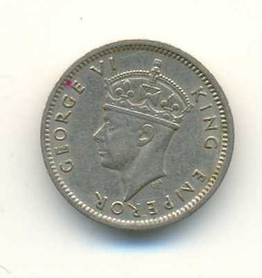 Southern Rhodesia Copper Nickel 3 Pence 1947 Xf  Au