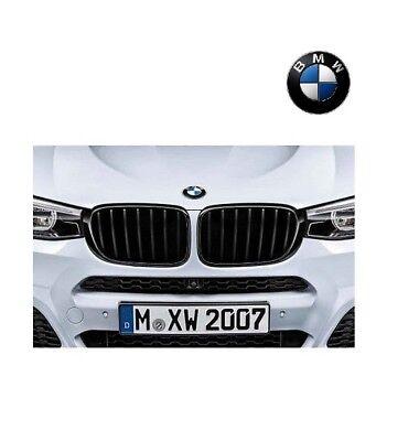 Original BMW Ziergitter X2 F39 M-Performance Nieren Schwarz Grill Gitter SET