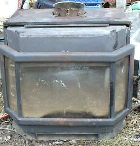 cast iron wood stove for work shop or cabin