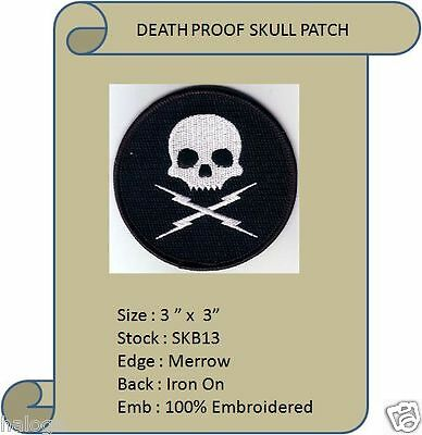 DEATH PROOF SKULL PATCH - SKB13
