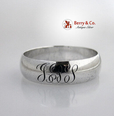 Gorham Sterling Silver Napkin Rings 1900