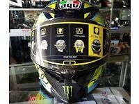 AGV pista GP R Soleluna Valentino Rossi