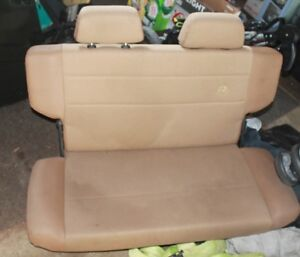 Jeep TJ After Market Rear Bench Seat & Stock Rear Benches