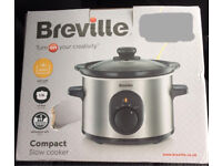 Breville Compact Slow Cooker Brand New Boxed