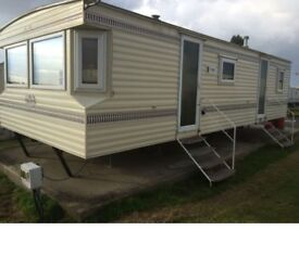 Caravan for short or long term rent at Leysdown Kent from £150 a week