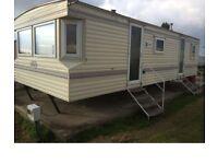 Caravan for short or long term rent at Leysdown Kent from £150 a week