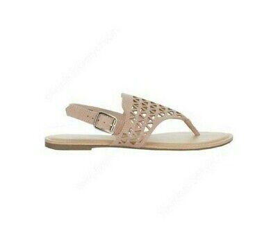 NWT Austin Trading Co. Women's size 9 Laser Rhinestone Thong Sandals  (Austin Trading Company)