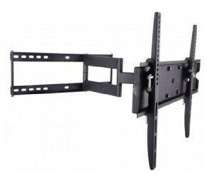 TECHly Full Motion TV Wall Mount - 23-55in - 50kg - Tilt 0 to -1