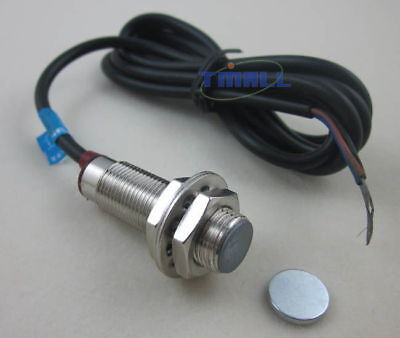 Hall Sensor Proximity Switch Npn 3-wires Normally Closed Nc With Magnet