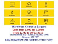 House Clearance Warehouse Clearance Bargains Great Sale up to 70%