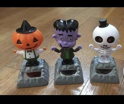Solar Powered Dancing Halloween Toy Collection - Halloween Solar Dancing Toys