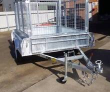 7x5 Galvanised 1400kg Trailer with cage Welland Charles Sturt Area Preview