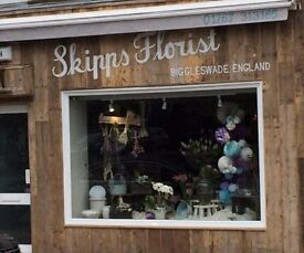 Driver required for florist shop based in Biggleswade