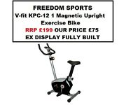 V-fit KPC-12 1 Magnetic Exercise Bike (EX DISPLAY FULLY BUILT) RRP £199.99