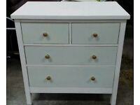 Hand painted soli chest of drawers