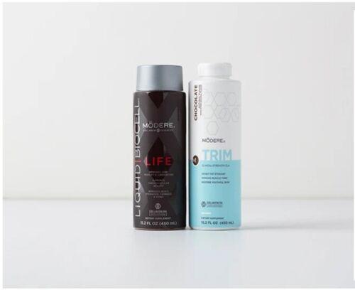 New In Box! Modere Liquid BioCell Life + Trim (Choose Trim Flavor ) - Free Ship