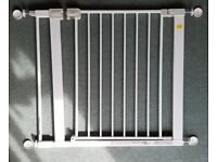 Safety gates (Safety 1st) with 7cm extensions