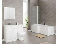 Bathroom and vanity suite