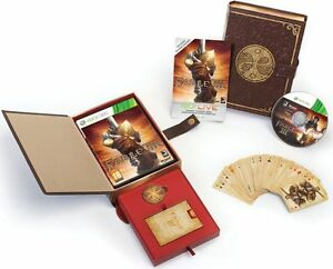Fable 3 Limited Collectors Edition for Xbox 360 - Playing Cards & Coin -Italian