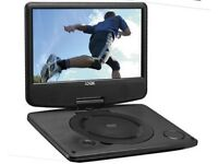 "BRAND NEW! 9"" Single LOGIK DVD Player"