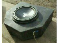 "JL Audio 12"" W3V2 300W Sub Woofer In Car Audio subwoofer & enclosure"