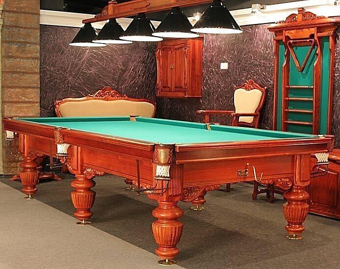 Pool Billard Billiard Billardtisch BARON 9 ft Turniertisch 5-tlg Schiefer 38mm