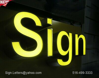 New Channel Letter24 - Business Store Front Sign Letters - Custom Made