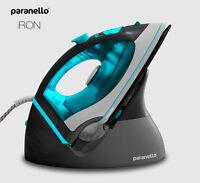 Retail $150+ New PARANELLO Cordless Steam/Dry Iron,Electric Blue